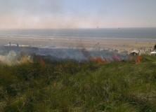 Grote duinbrand in Wijk aan Zee