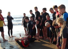 Junior Lifeguards in actie
