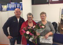 Afscheid van Sannie en Elly
