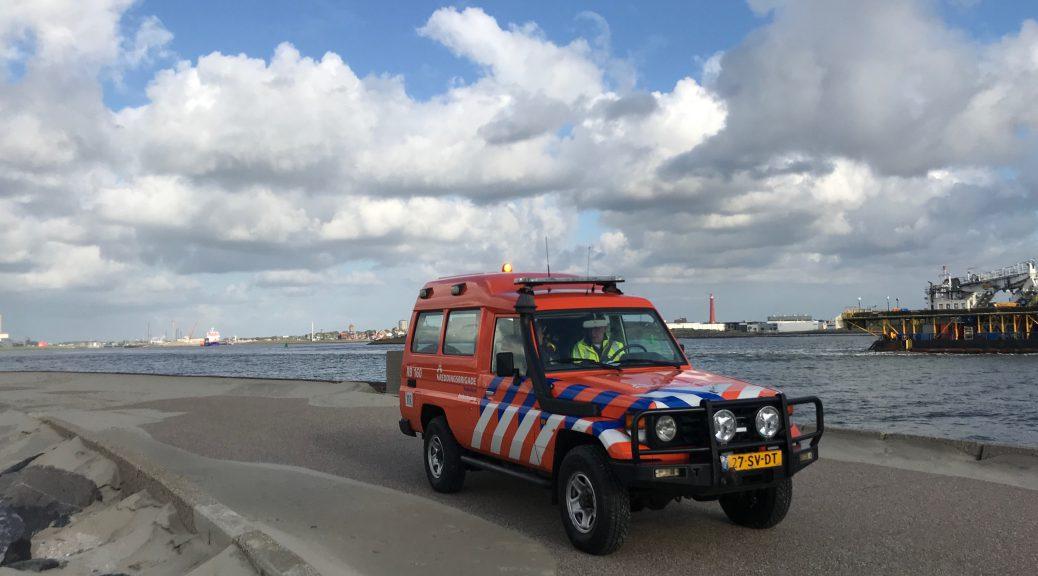 Foto voertuig Reddingsbrigade op de Noordpier